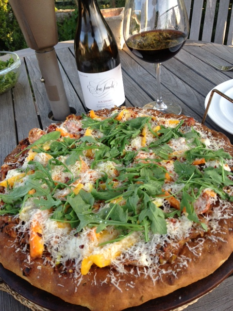 Vegetarian pizza recipe posted tomorrow